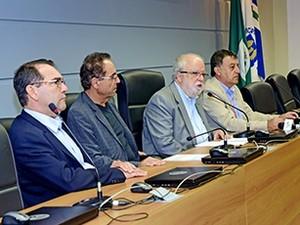 Reitoria Unicamp (Foto: Antonio Scarpinetti/Unicamp)