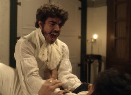 Pedro agride Chalaça e o chama de traidor