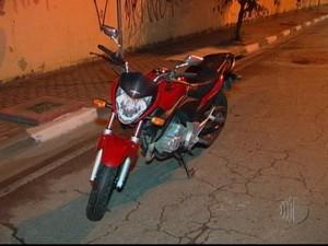 Policial foi morto no Centro de Poá (Foto: Reprodução/TV Diário)