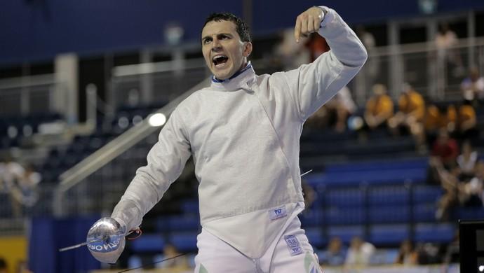 Renzo Agresta esgrima pan-americano 2015 (Foto:  Erich Schlege/Reuters)
