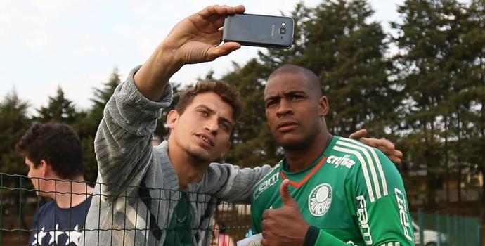 Jailson Palmeiras torcedor (Foto: Cesar Greco/Ag Palmeiras/Divulgação)