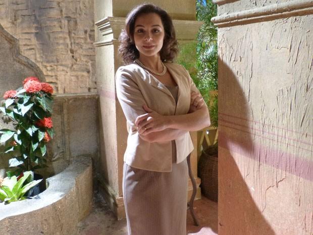 Martha Nieto vive há 12 anos no Brasil (Foto: Flor do Caribe/TV Globo)