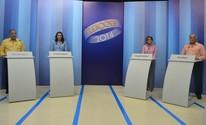 Candidatos ao governo confrontam propostas em debate na TV Roraima (Neidiana Oliveira/G1 RR)