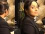 Thaíssa Carvalho mostra como fazer uma falsa trança embutida; veja vídeo
