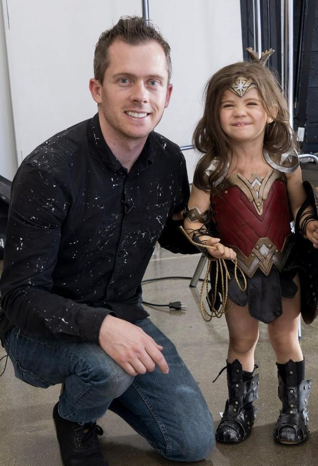 Josh Rossi com a pequena Neele (Foto: Reprodução)