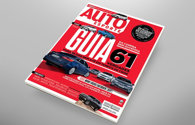 Capa revista Autoesporte de agosto (Foto: Autoesporte)