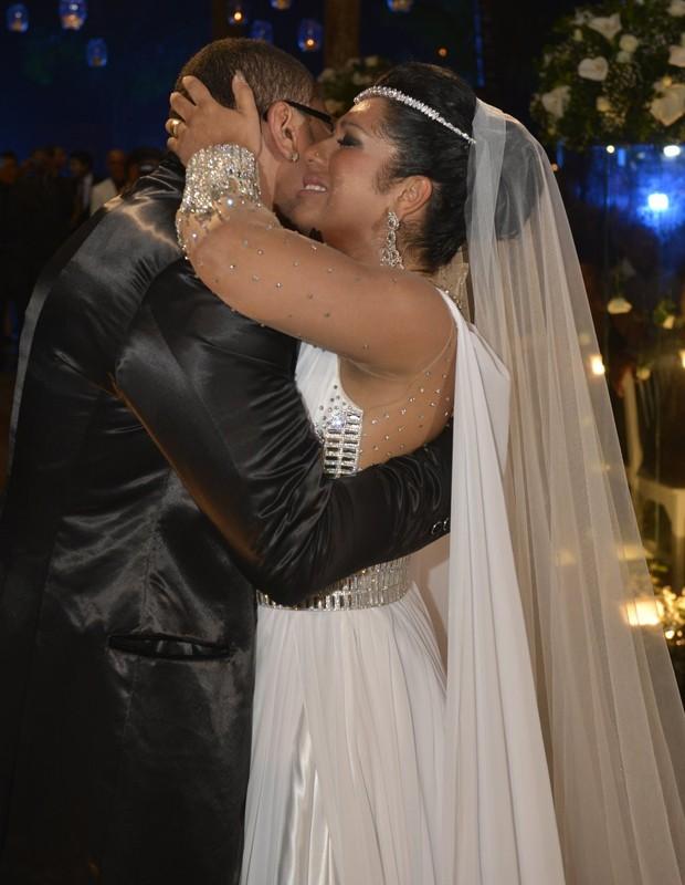 Naldo e Ellen Cardoso (Foto: Fábio Cordeiro/AgNews)