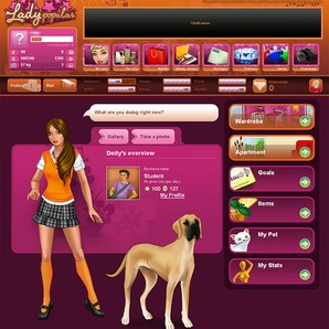 Lady popular jogos download techtudo for Simulador cocinas 3d online