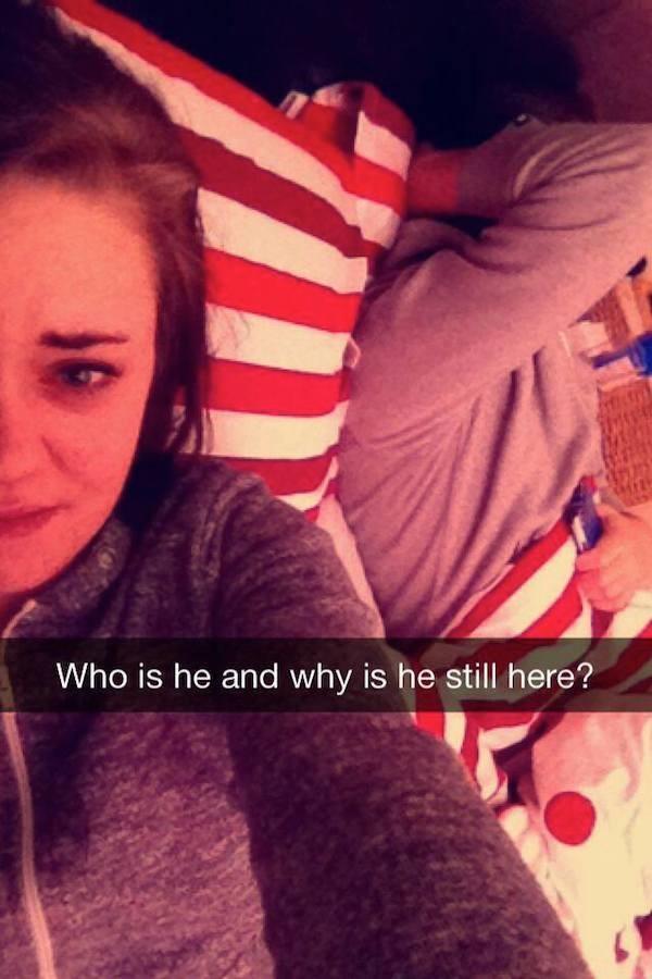 'Quem é ele e por que ele ainda está aqui?'