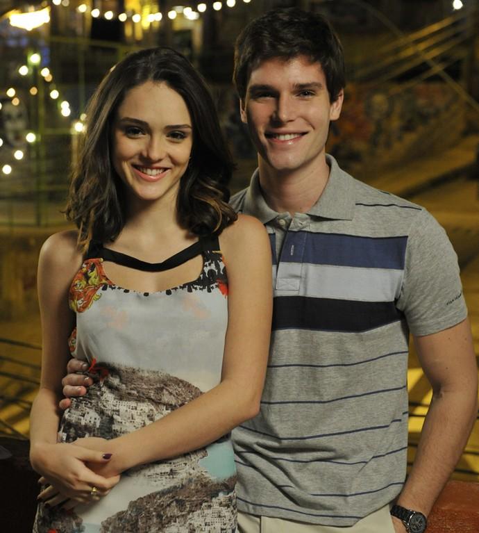 Jonatas viveu um par romântico na trama ao lado de Isabelle Drummond (Foto: Renato Rocha Miranda / TV Globo)