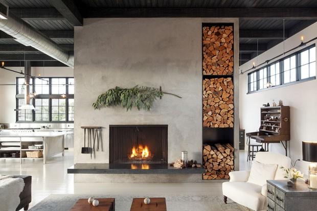 Um loft de estilo industrial em portland casa vogue casas for Casas de estilo industrial