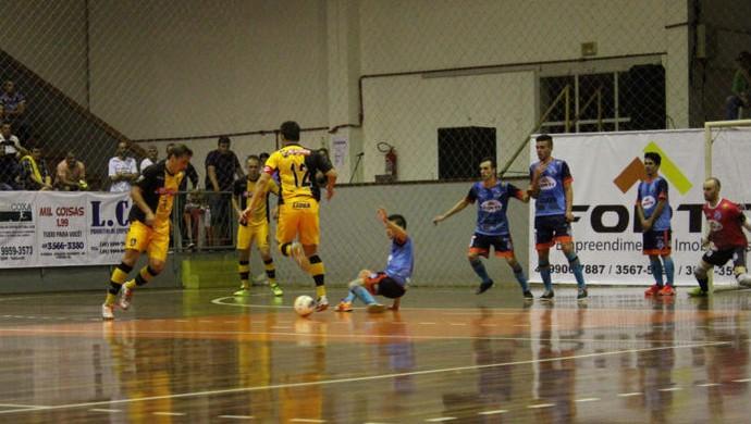 Em jogo amistoso, Capinzal supera por 5 a 4 o Sorocaba Futsal (Foto: Guilherme Mansueto/Sorocaba Futsal)