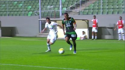 Melhores momentos de América-MG 1 x 2 Chapecoense pela 21ª rodada do Campeonato Brasileiro