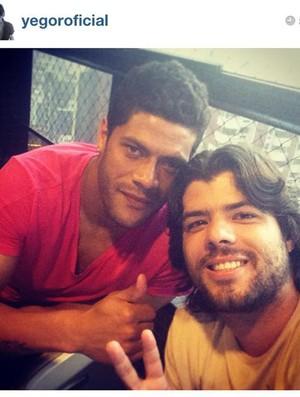 Yegor e Hulk: amizade antiga (Foto: Reprodução / Instagram)
