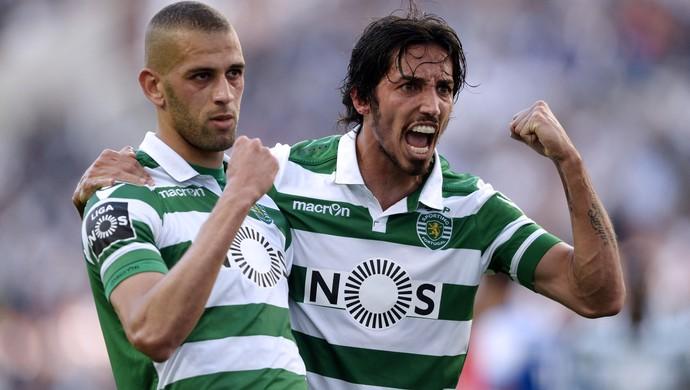 Slimani Porto x Sporting (Foto: AFP)