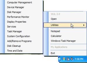 Windows Utilities Launcher