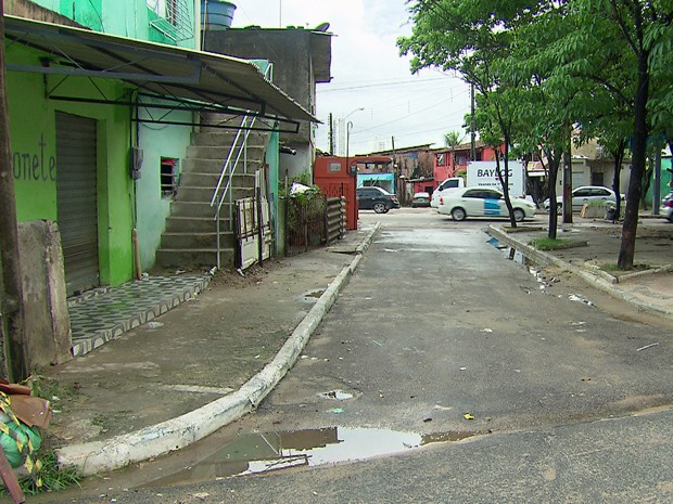 Agente da Funase foi assassinado a tiros (Foto: Reprodução / TV Globo)
