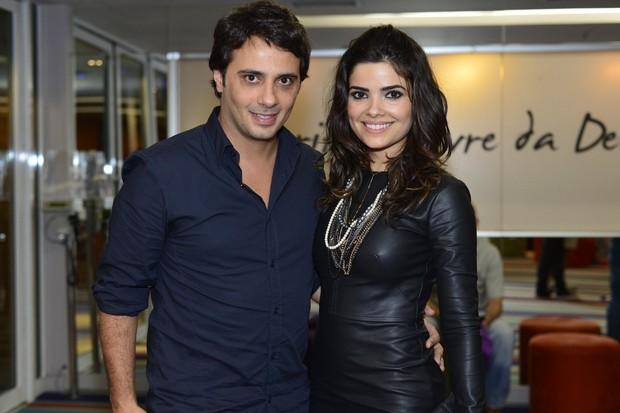 Vanessa Giácomo e o namorado Pepe Diogardi (Foto: André Muzell / AgNews)
