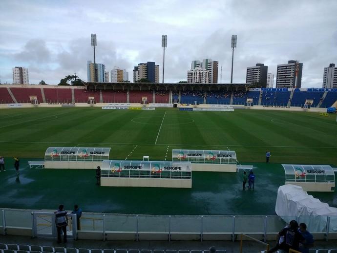 Arena Batistão (Foto: Danilo Mecenas)