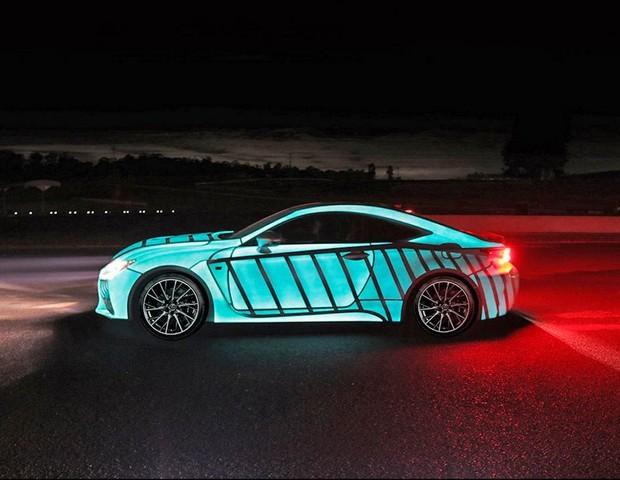 Lexus cria carro que reflete os batimentos cardíacos do piloto