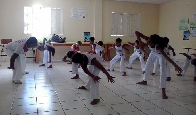 No Piauí, o projeto Renascer na Alegria é um dos projetos apoiados pelo Criança Esperança (Foto: Gshow/Rede Clube)