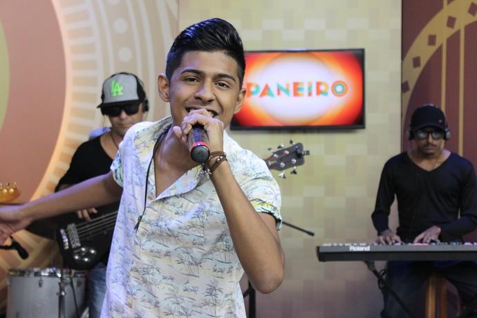 Daniel Trindade tem 17 anos de idade (Foto: Katiúscia Monteiro/ Rede Amazônica)