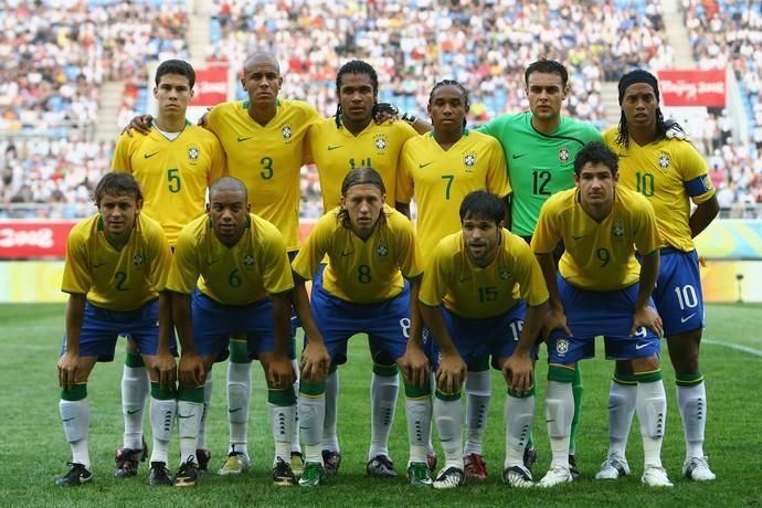 Seleção olimpica 2008 (Foto: Getty Images)