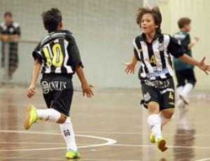 Equipe Sub-11 do Peixe goleou o São Caetano por 9 a 0 (Foto: Pedro Ernesto Azevedo / Santos FC)