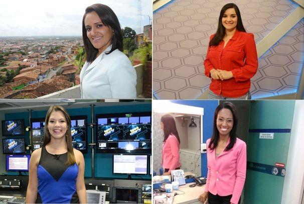 A equipe feminina comanda a programação da TV Sergipe (Foto: Divulgação/TV Sergipe)