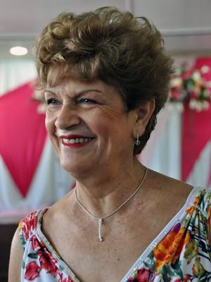 Neide foi eleita a mais bela idosa de São Paulo (Foto: William Pereira/ Sec. Est. da Saúde de SP)