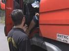 Operação em Marília fiscaliza transporte de cargas em rodovia