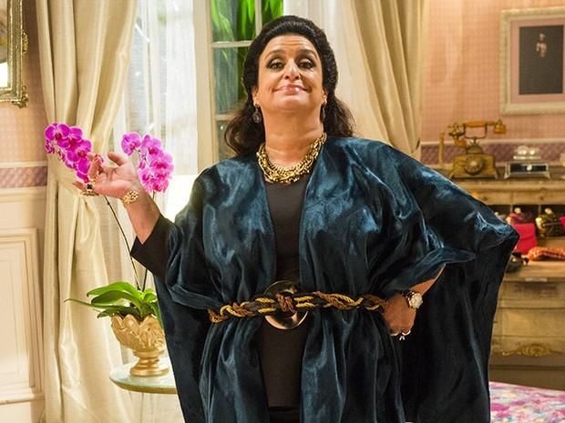 Grace Gianoukas fala sobre família Abdala em 'Haja Coração' (Foto: João Miguel Jr/Globo)