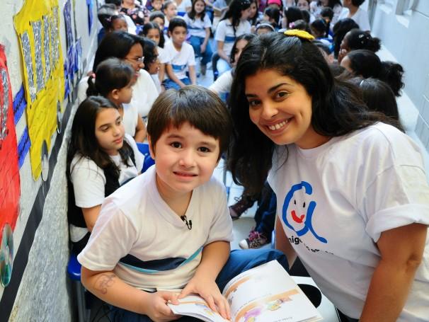Amigos da Escola (Foto: Divulgação/Kiko Cabral)