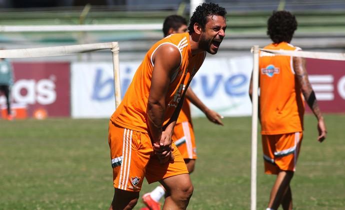 Fred, treino do Fluminense (Foto: Nelson Perez / Fluminense FC)