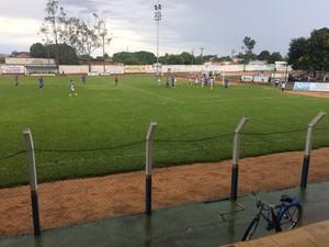 Interporto vence jogo-treino por 2 a 0 (Foto: Salmon Pugas/ Divulgação )