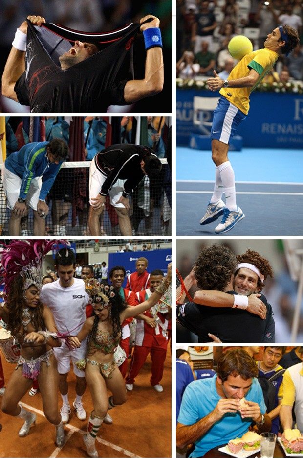 montagem tênis retrospectiva 2012 (Foto: Editoria de Arte/Globoesporte.com)