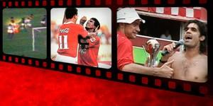 Em oito vídeos, os 45 anos de emoções da era Beira-Rio; veja (Editoria de Arte/Globoesporte.com)
