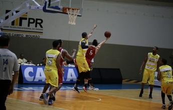 Basquete Cearense domina jogo e vence Campo Mourão sem dificuldade