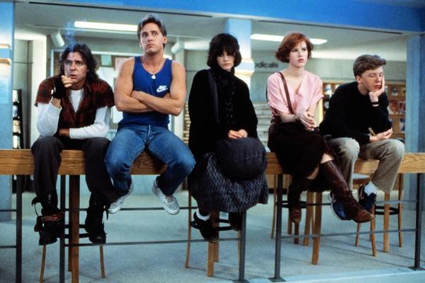 Cena de 'Clube dos Cinco' (1985) (Foto: Reprodução)