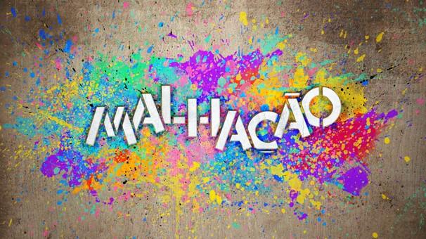 Diversas cores de tinta foram usadas para fazer o logotipo da nova temporada (Foto: Foto: Divulgação/TV Globo)