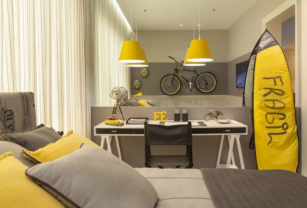 10 quartos cariocas e arrasadores Casa Vogue Ambientes ~ Quarto Preto E Branco Jovem