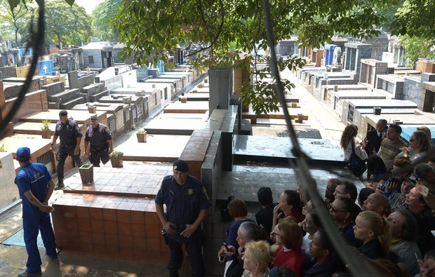 Enterro Domingos Montagner (Foto: Francisco Cepeda/ AgNews)