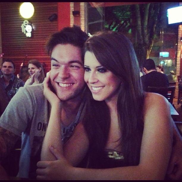 Nasser Rodrigues e Andressa Ganacin (Foto: Reprodução)