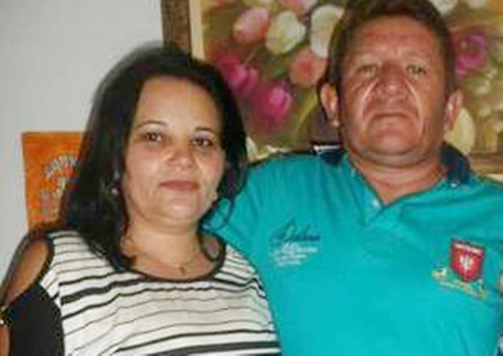 Francisco das Chagas atirou duas vezes na própria mulher e depois de matou (Foto: Arquivo Pessoal)