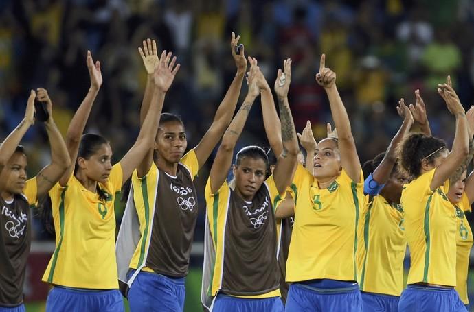 Brasil x China (Foto: Reuters)
