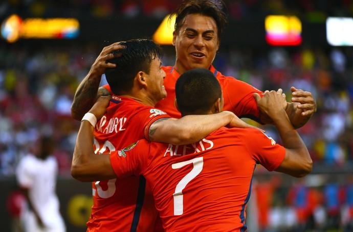 b5d1eb18a8 Colômbia x Chile (Foto  Reuters)