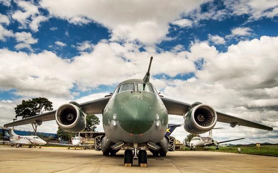 Cargueiro Militar KC-390,da KC-390 (Foto: Ricardo Correa/ÉPOCA)