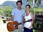 Sergio Guizé e Nathalia Dill cantam juntos e ele brinca: 'Me senti do lado do Xororó'