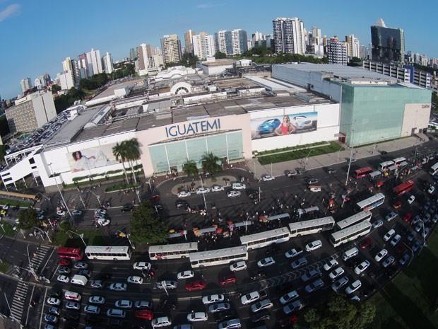 c327334e9d Fachada do Shopping Iguatemi