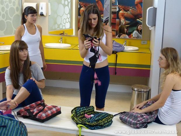 Essa Kika é uma víbora mesmo... (Foto: Malhação / Tv Globo)